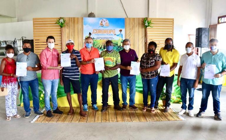 Prefeito Aldo Lopes acompanha entrega de Cadastro Ambiental Rural em Cururupu
