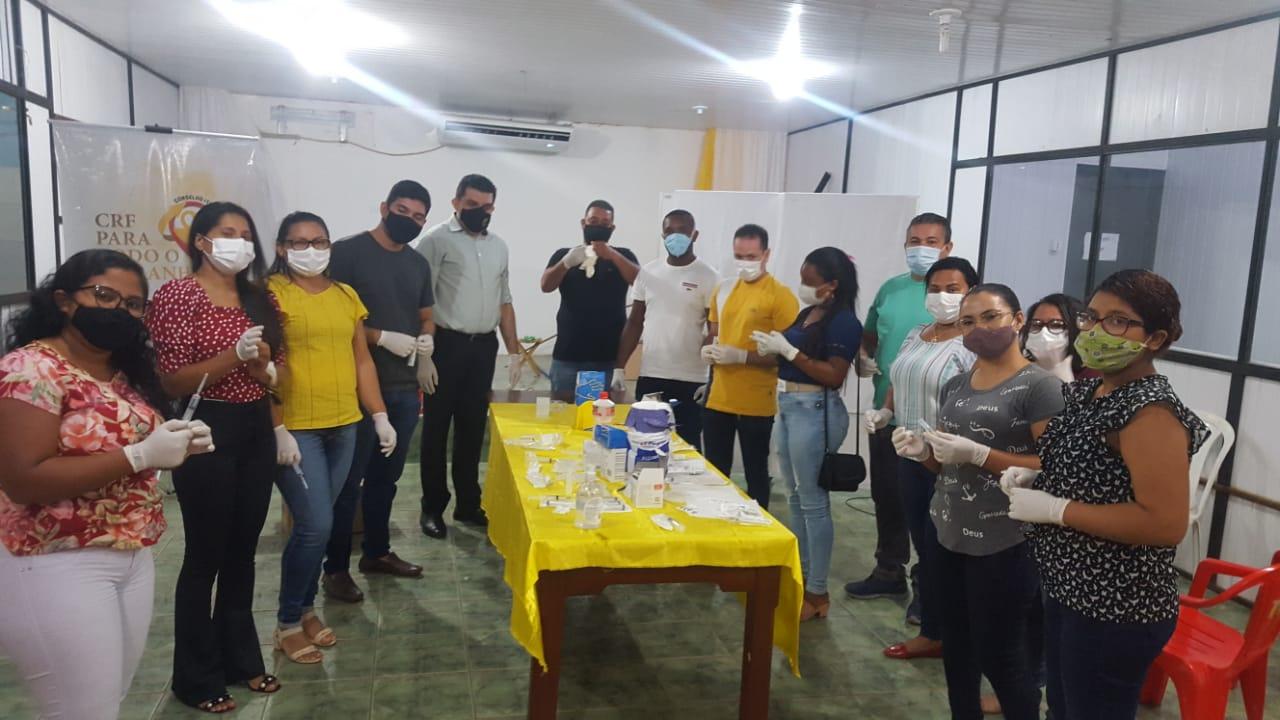 Prefeitura de Cururupu, em parceria com o CRF-MA realizam curso para profissionais da saúde