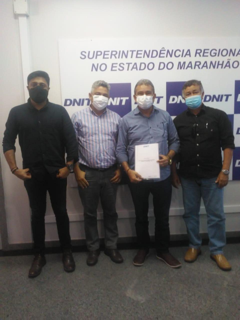 Prefeito Aldo Lopes Reúne com diretor do Denit sobre Pindobal