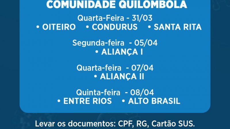 Prefeitura de Cururupu vai iniciar vacinação nas comunidades Quilombola, veja o calendário!