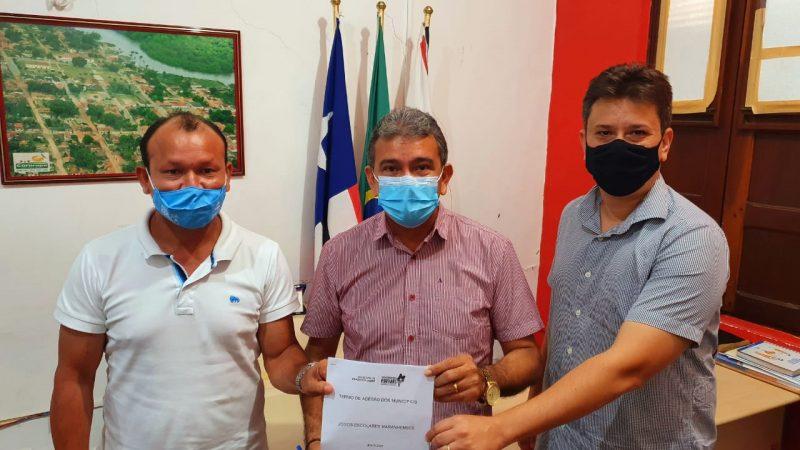 Prefeito Aldo Lopes assina termo de adesão dos JEMS-2021