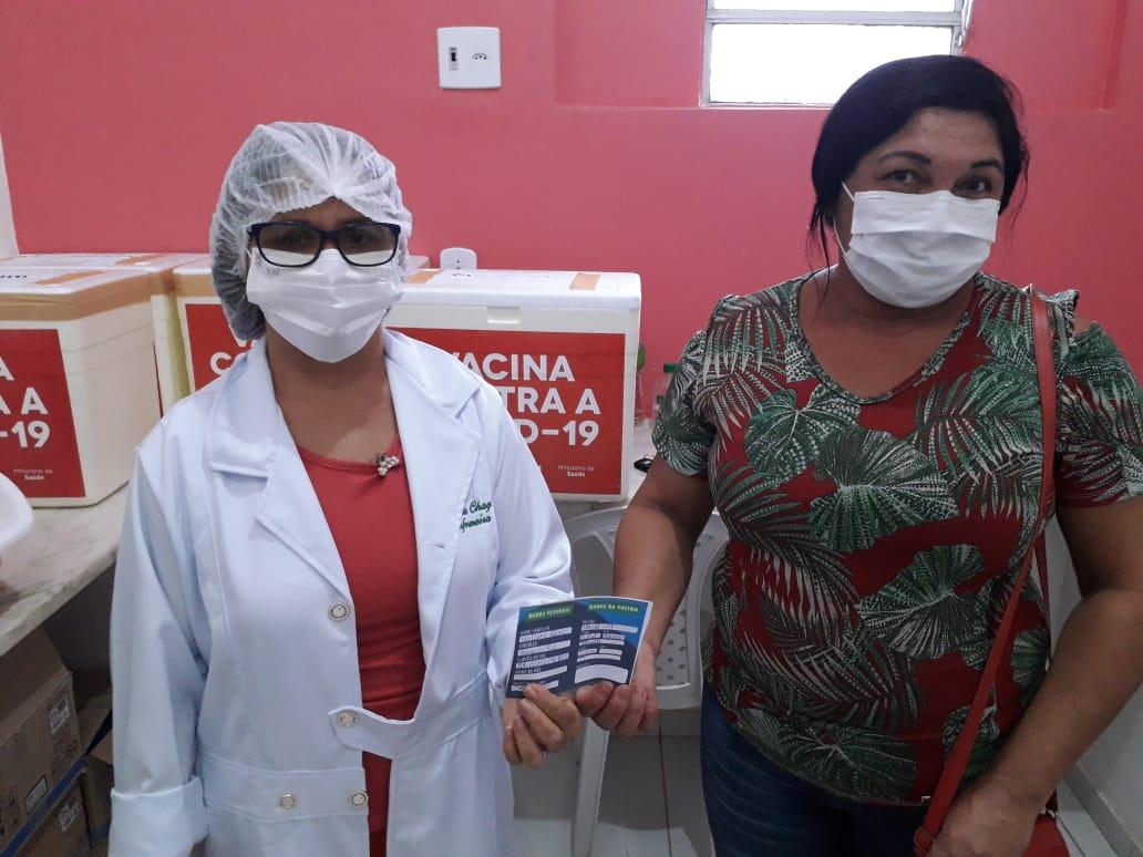 Prefeitura de Cururupu inicia vacinação de profissionais da rede municipal de saúde contra a Covid-19