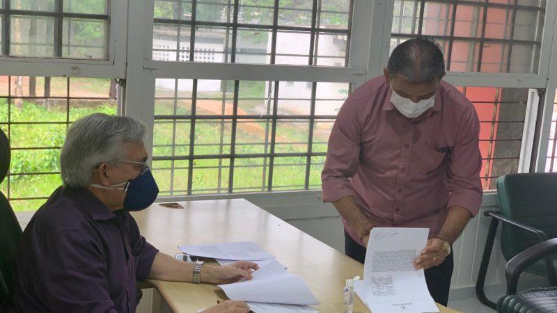 Prefeito Aldo Lopes participa de cerimônia que viabilizou convênio entre a UFMA e a Santa Casa