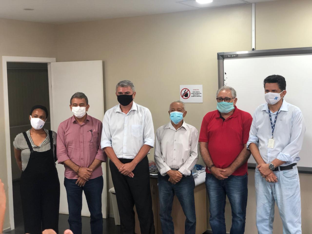Prefeito Aldo Lopes participa de reunião com representantes do Sebrae na capital São Luís