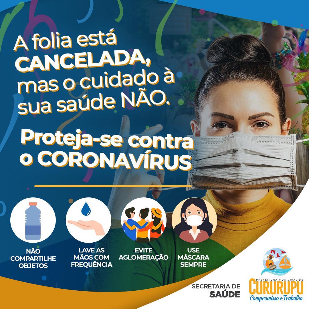 Novo Decreto da Prefeitura de Cururupu suspende a realização do Carnaval de 2021