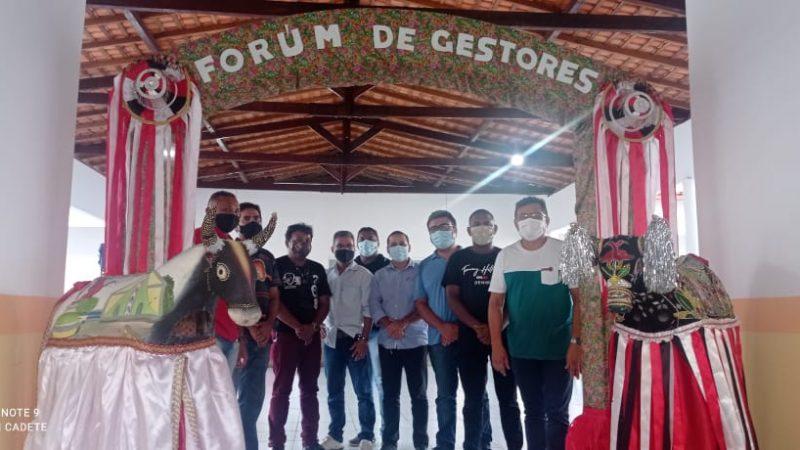 """Cururupu participa do """"Fórum de Gestores de Cultura"""" em Bacuri"""