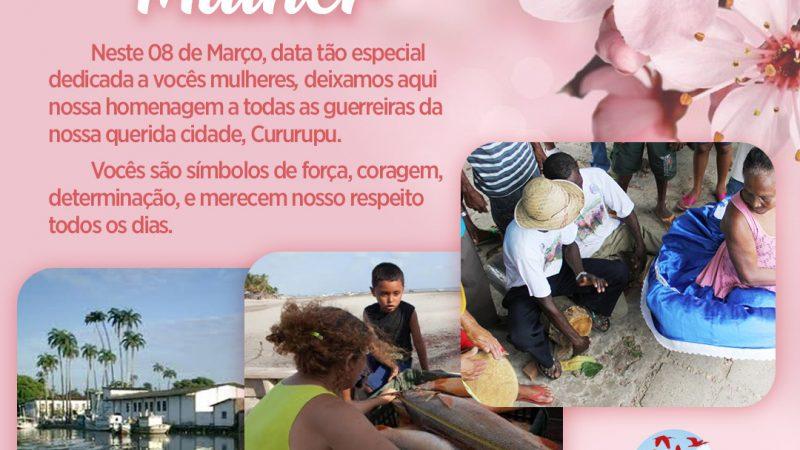 Prefeito Aldo Lopes faz homenagem às mulheres cururupuenses