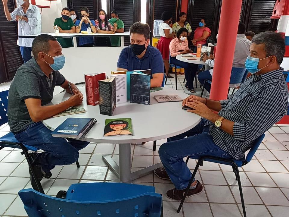 Prefeito Aldo Lopes realiza visita ao Farol do Saber que será reinaugurado nesta quarta-feira (28)